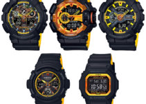 G-Shock BY Black and Yellow Series