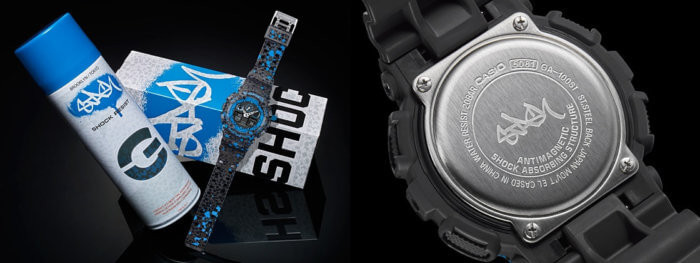 STASH x G-Shock Packaging Box and Case Back