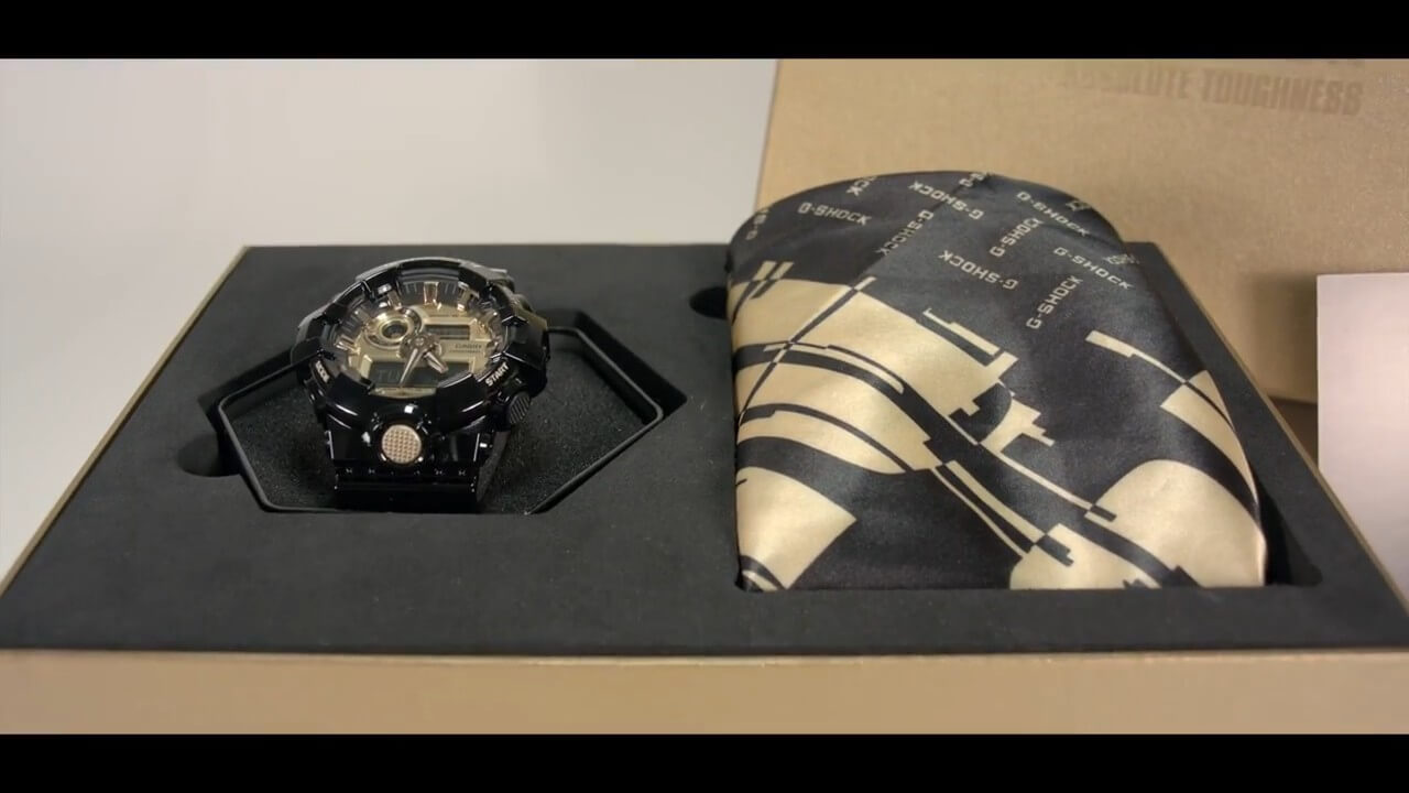 No Comply G Shock GA 710GB Limited Edition – G Central G