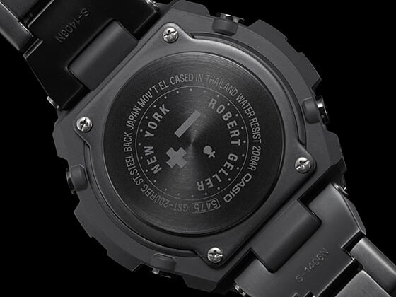 Casio G-Shock G-STEEL GST-200RBG-1A Case Back