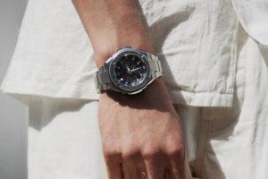 Wrist Shots of the Smaller G-Shock G-STEEL 300 Series