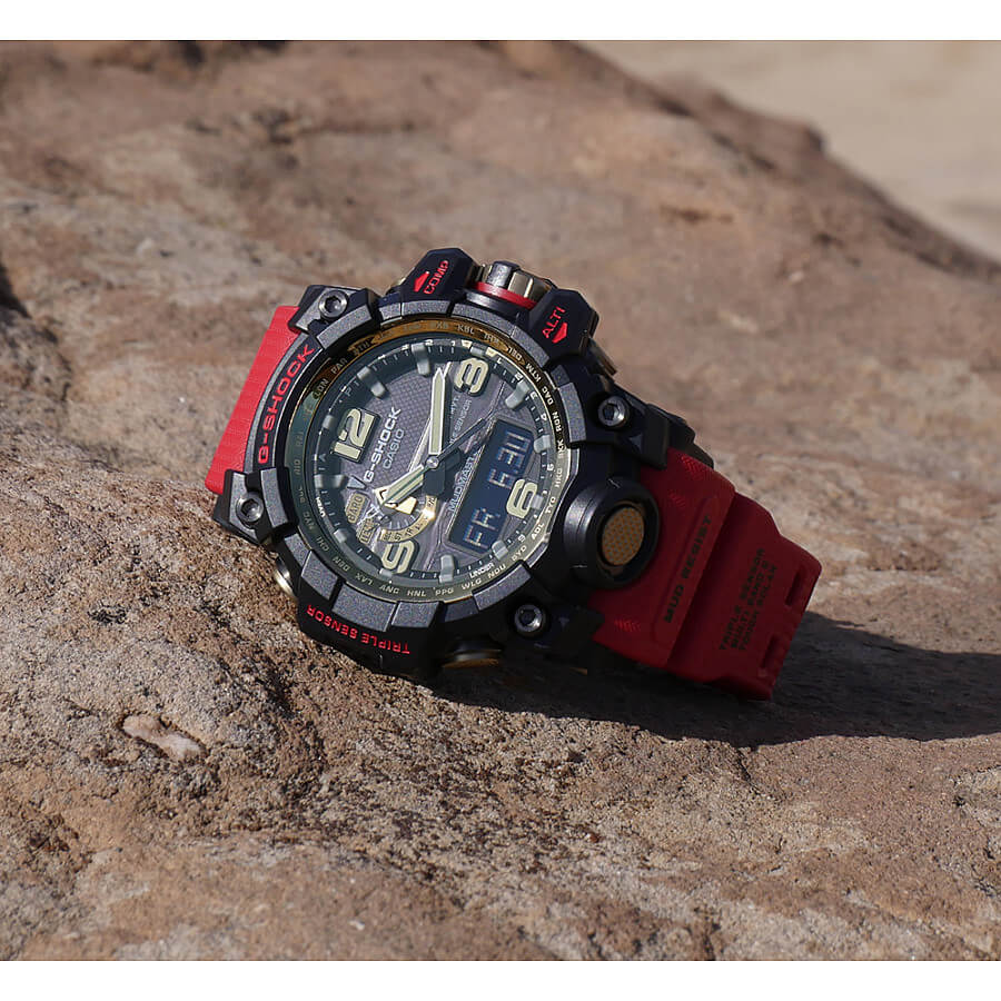 Mudmaster Gwg 1000gb 4a Gg Red And Gold G Central Casio Shock 1000 1a