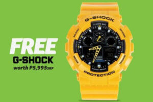 Philippines: Free G-Shock with Acer laptop purchase