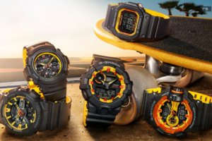 G-Shock GA-700BY-1A Burning Sun Series