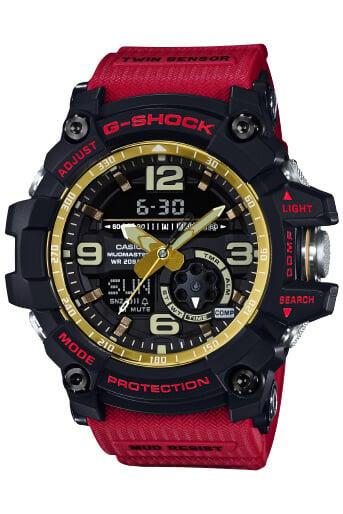 G-Shock Mudmaster GG-1000GB-4A Red Gold Black