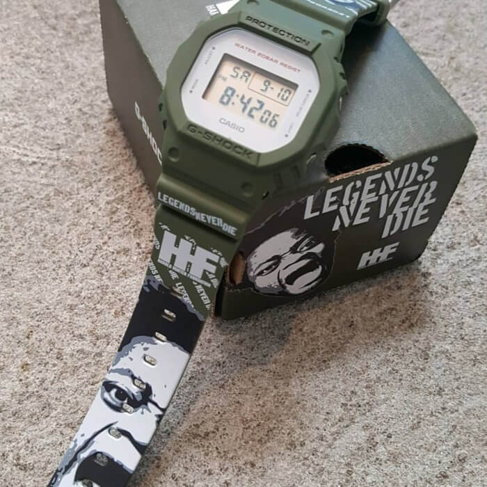 Harold Hunter Foundation x G-Shock DW-5600 Legends Never Die Limited Edition Watch