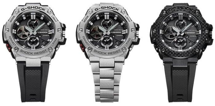 G-Shock G-Steel GST-B100 GST-B100-1A GST-B100D-1A GST-B100X-1A