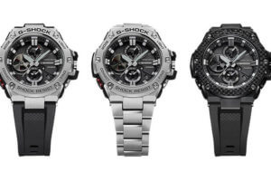 G-Shock G-STEEL GST-B100 with Bluetooth and Tough Solar