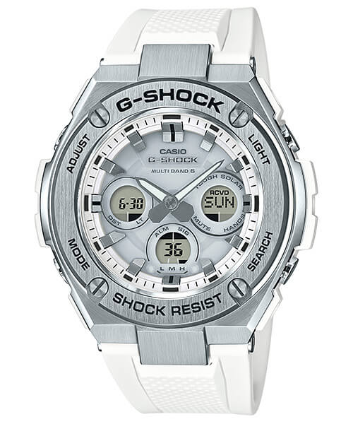 G-Shock G-STEEL GST-W310-7A White Mid-Size