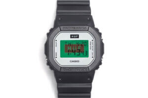 HUF Worldwide x G-Shock DW5600HUF-1 2017 15th Anniversary Watch