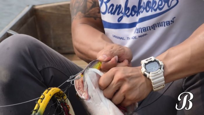 Bangkok Hooker Fishing Casio G-Shock