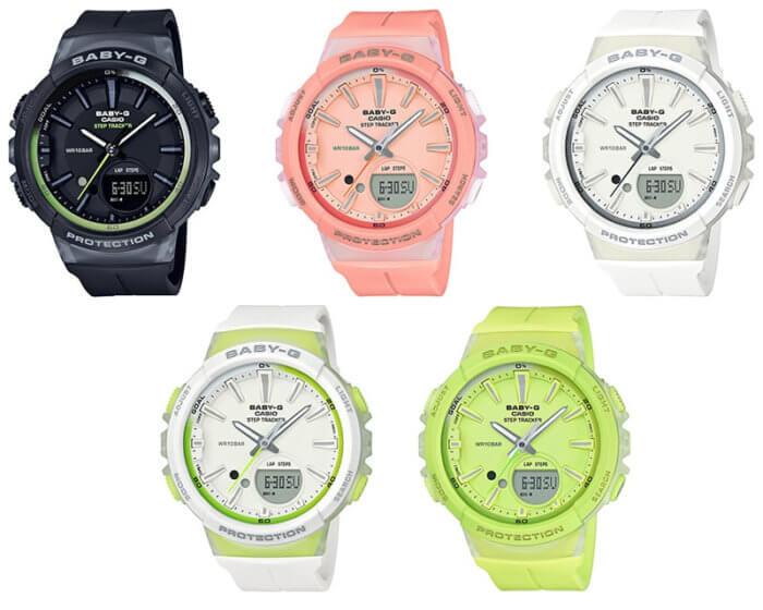 Baby-G BGS-100 Step Counter BGS-100-1A BGS-100-4A BGS-100-7A1 BGS-100-7A2 BGS-100-9A