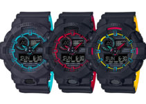 G-Shock GA-700SE-1A2 GA-700SE-1A4JF GA-700SE-1A9JF Layered Neon Colors Thumbnail