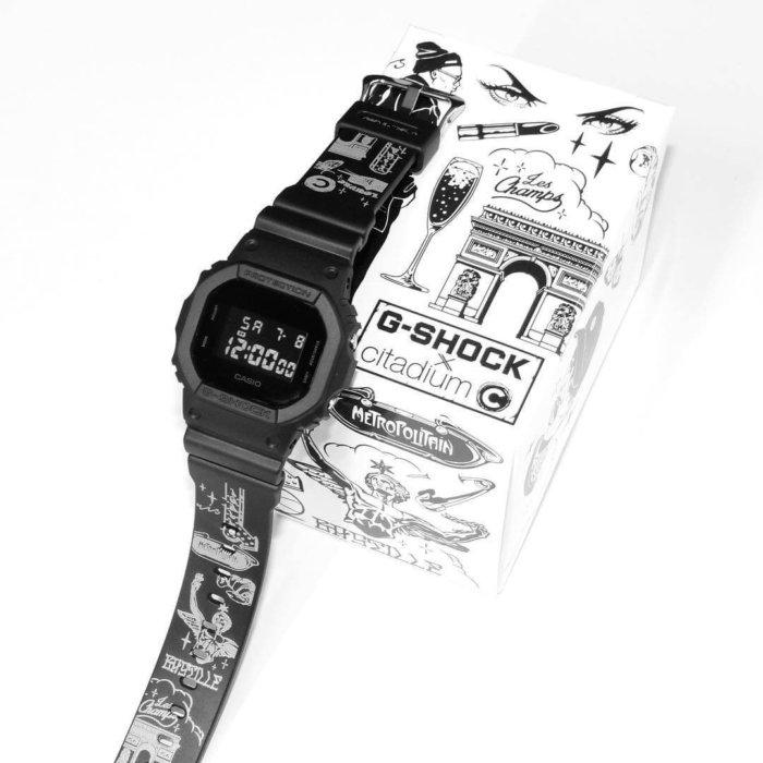 G-Shock x Citadium DW-5600 by NIKIBI