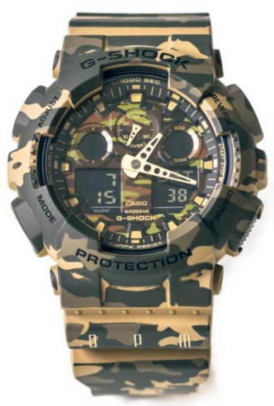 OPM x G-Shock GA-100CM-5AER