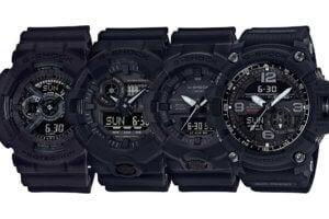 G-Shock 35th Anniversary Big Bang Black Watch Collection