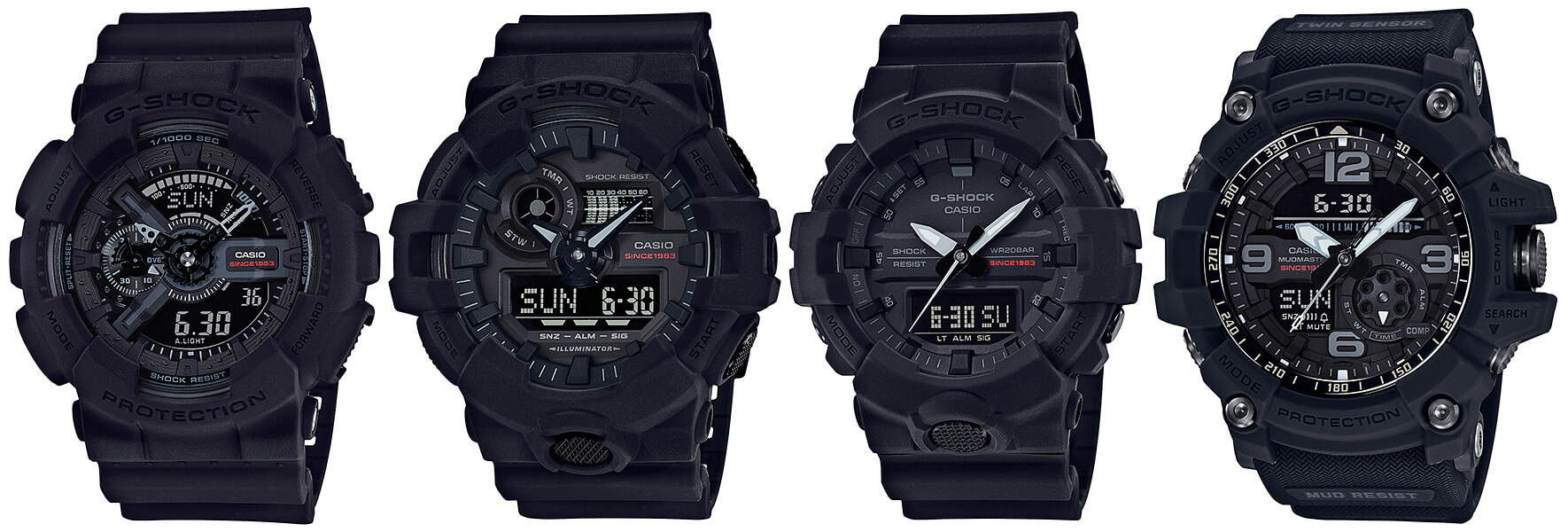 12558401f09 G-Shock 35th Anniversary Big Bang Black Watch Collection – G-Central ...