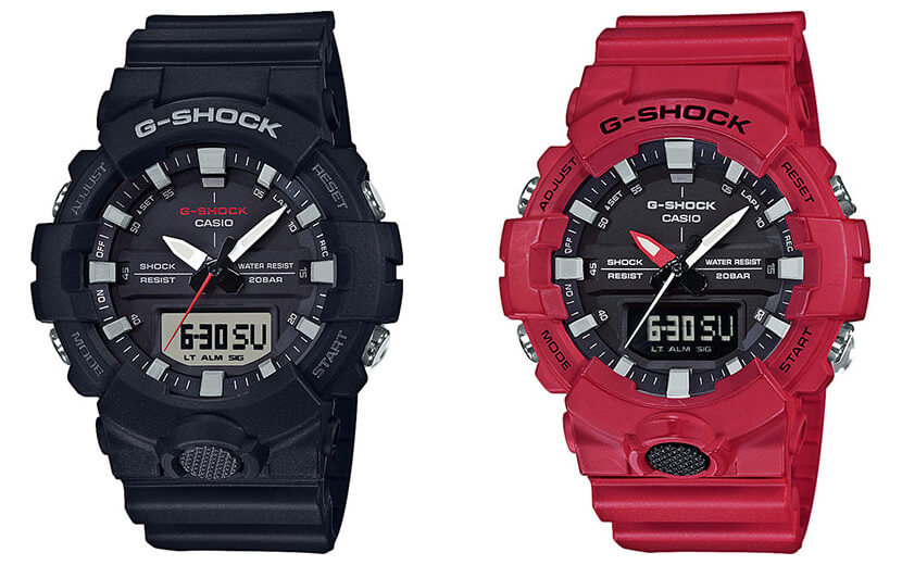 d307a44cc95b G-Shock GA-800 Mid-Size Analog-Digital with 3 Hands – G-Central G ...