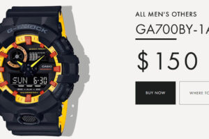 G-Shock GA700BY-1A