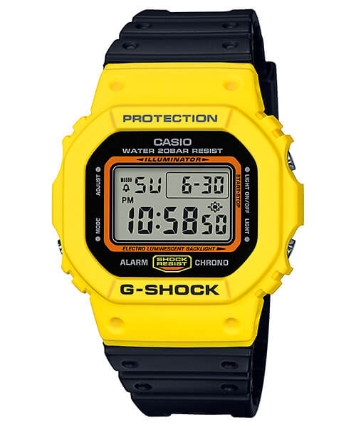 G-Shock DW-5600TB-1 Yellow and Black