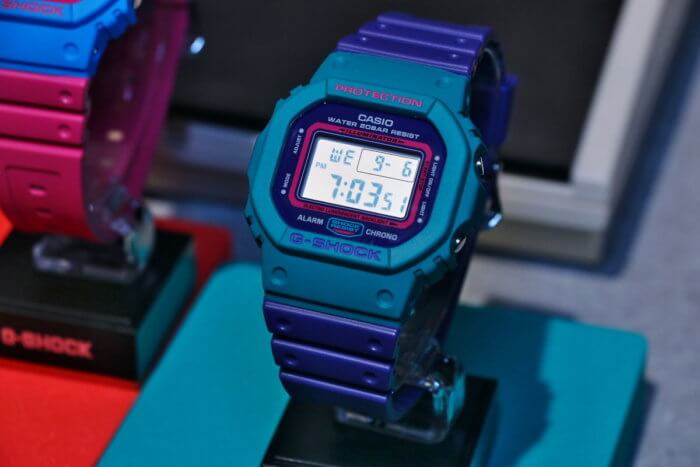 G-Shock DW-5600TB-6 Purple and Green