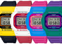 G-Shock DW-5600TB-1 DW-5600TB-4A DW-5600TB-4B DW-5600TB-6