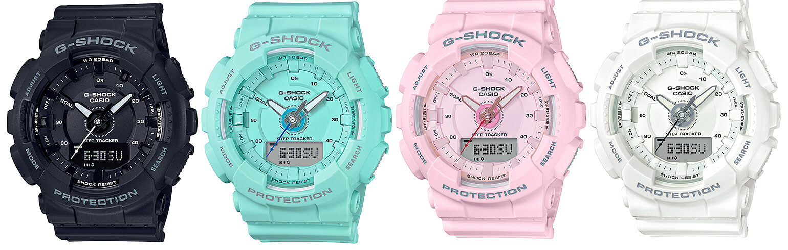 G Shock Gma S130 Step Tracker S Series G Central G Shock
