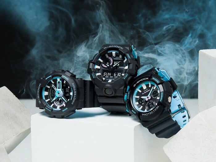 G-Shock Neon Pearl Blue Collection