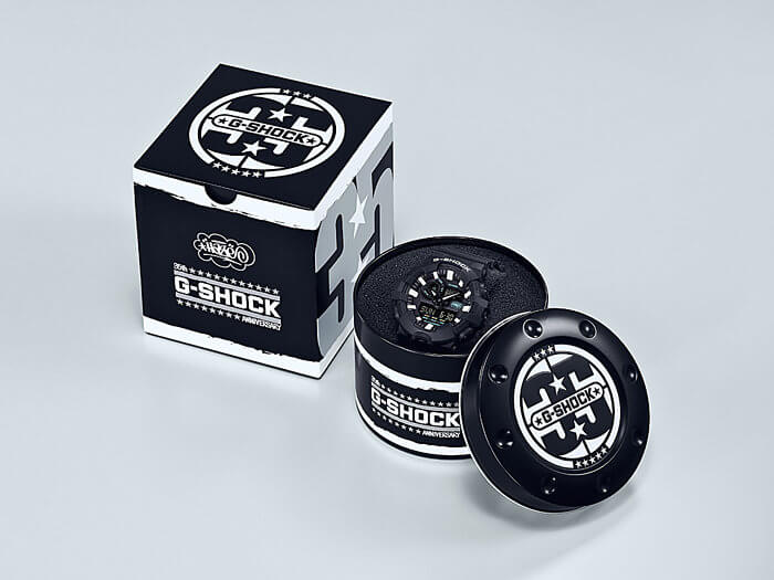 G-Shock GA-700EH-1A Eric Haze 35th Anniversary Collaboration Watch Box