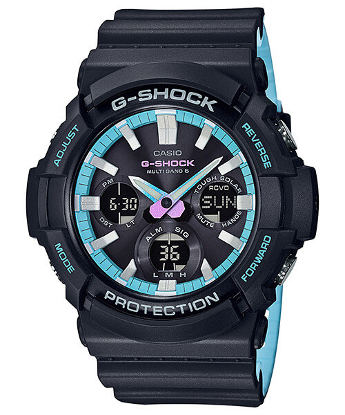 G-Shock GAW-100PC-1A Neon Blue