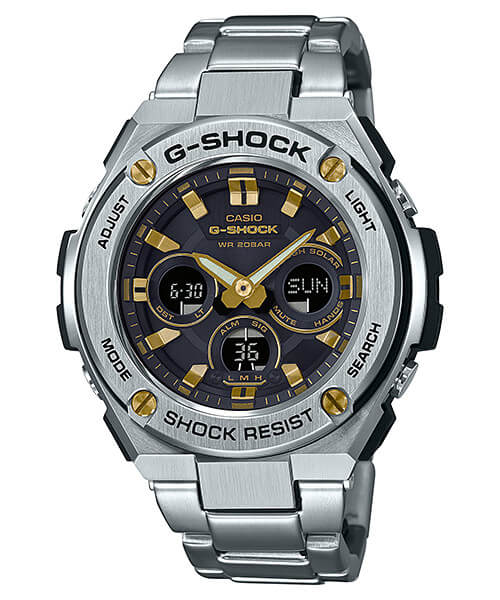 G-Shock G-STEEL GST-S310D-1A9 Silver and Gold