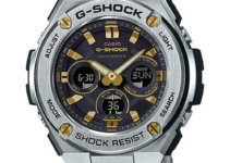 G-Shock G-STEEL GST-W310D-1A9 Silver and Gold