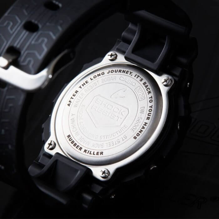 Rubber Killer x G-Shock DW-5600 Case Back