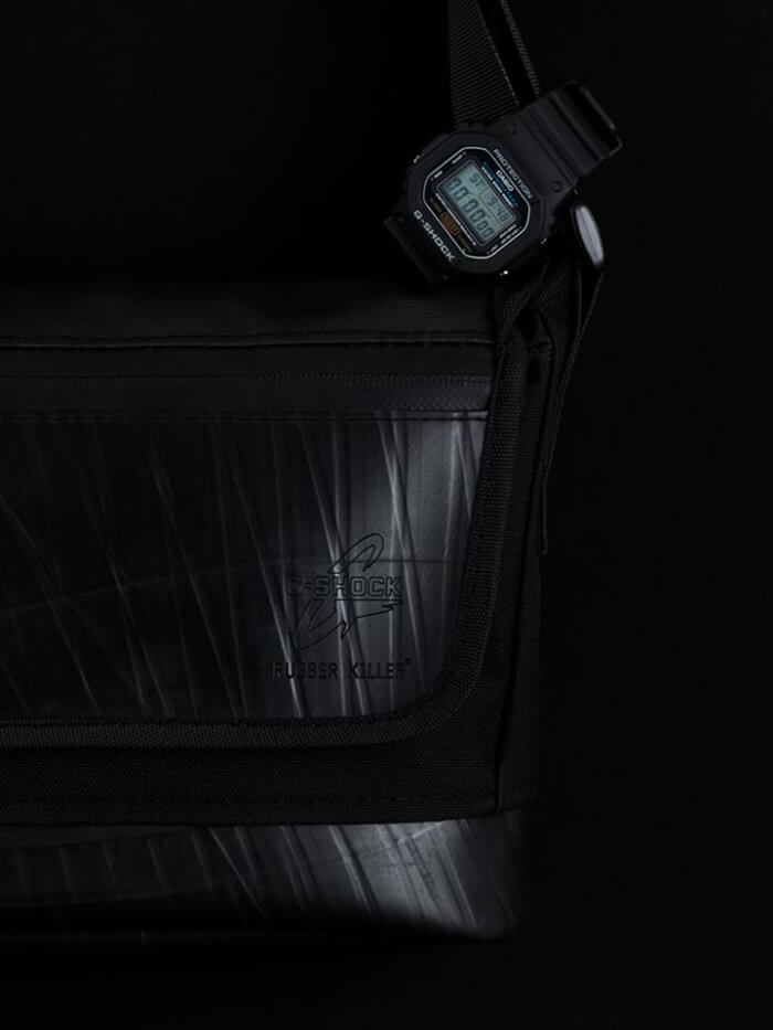 Rubber Killer x G-Shock DW-5600 Watch and Bag