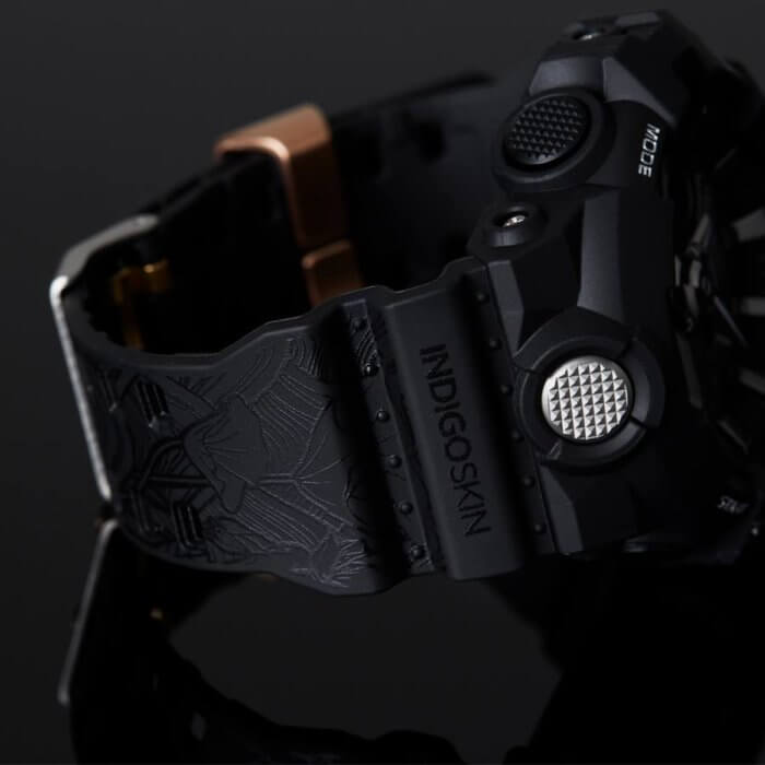 Indigoskin x G-Shock GA-710 Band