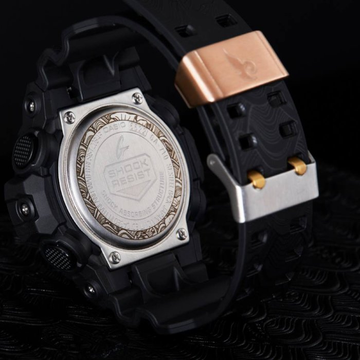Indigoskin x G-Shock GA-710 Case Back and Metal Keeper