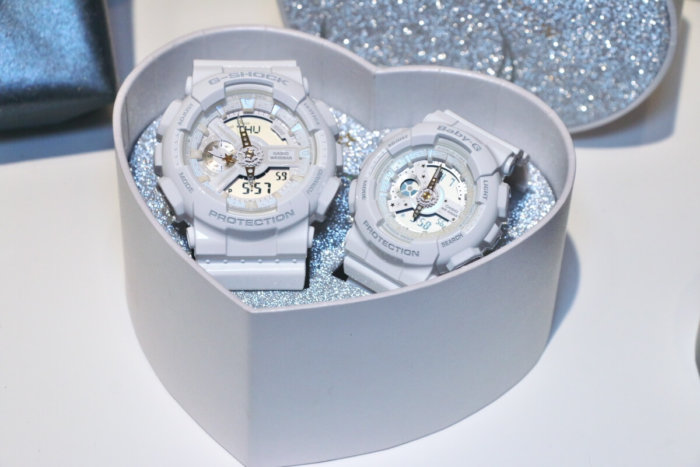 G Presents Lover's Collection 2017 LOV-17A G-Shock and Baby-G Watches