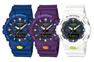 G-Shock GA-800SC Blue Purple White Sneaker Color Series