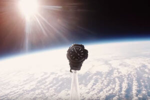 G-Shock GPW-2000 Gravitymaster goes to space