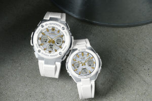 G-Shock G-STEEL GST-W300-7A Baby-G MSG-W100-7A2