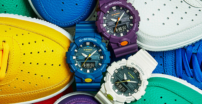 G-Shock GA-800SC Sneaker Color Series