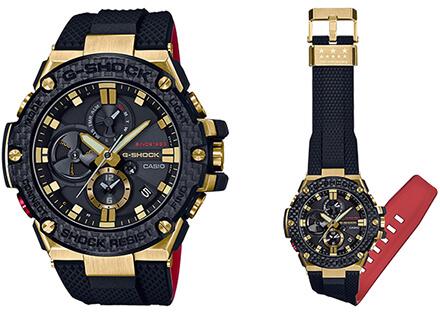 G-Shock G-STEEL GST-B100TFB 35th Anniversary Gold Tornado Edition