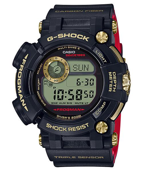 G-Shock GWF-D1035B-1 Frogman Gold Tornado 35th Anniversary