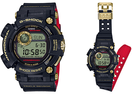 G-Shock GWF-D1035B Frogman 35th Anniversary Gold Tornado Edition