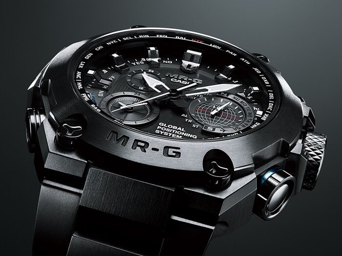 G-Shock MRG-G1000B-1A Tough Analog Watch with DLC Coating