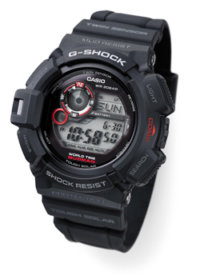 Toughest G-Shock G-9300 Mudman with Mud Resistance
