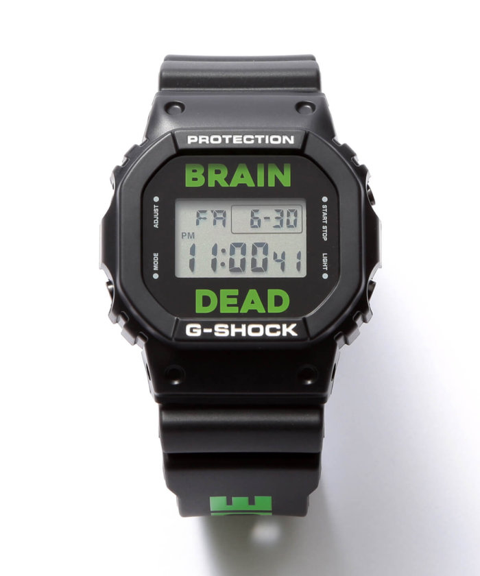 Brain Dead x G-Shock DW-5600 2017 Collaboration Watch