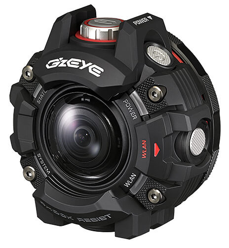 Casio Cool Street Geat G'z EYE GZE-1 Rugged Action Camera