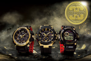 G-Shock 35th Anniversary Gold Tornado Collection