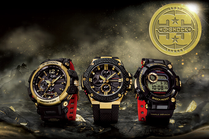 e6c97888ab09 G-Shock Gold Tornado 35th Anniversary Collection – G-Central G-Shock ...